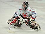 Deutscher Eishockey Pokal 2003/2004 , Halbfinale, Arena Nuernberg (Germany) Nuernberg Ice Tigers - Koelner Haie (1:3) Frederic Chabot (Nuernberg)