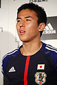 Makoto Hasebe (JPN), DECEMBER 26, 2011 - Football / Soccer : Japan National Team Official Uniform Announcement Press conference at Saitama Super Arena, Saitama, Japan. (Photo by YUTAKA/AFLO SPORT) [1040]