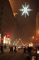 First Major Snowstorm of the year hits New York Area on December 19, 2009
