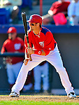 7 March 2011: Washington Nationals' outfielder Bryce Harper in action during a Spring Training game against the Houston Astros at Space Coast Stadium in Viera, Florida. The Nationals defeated the Astros 14-9 in Grapefruit League action. Mandatory Credit: Ed Wolfstein Photo