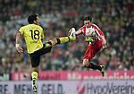 Fussball, Bundesliga 2010/2011: FC Bayern Muenchen - Borussia Dortmund
