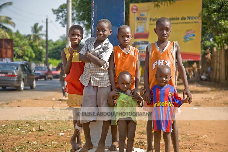 Children in Conakry, Guinea