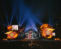 "The Grateful Dead Live at Giants Stadium 03 August 1994. Photograph taken during the song ""Corrina"""