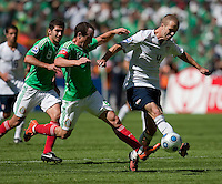 Michael Bradley. USA Men's National Team loses to Mexico 2-1, August 12, 2009 at Estadio Azteca, Mexico City, Mexico. .   .