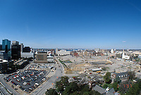 1997 March 07..Redevelopment..Macarthur Center.Downtown North (R-8)..LOOKING WEST.SUPERWIDE...NEG#.NRHA#..