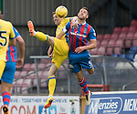 Inverness Caley Thistle v St Johnstone&hellip;27.08.16..  Tulloch Stadium  SPFL<br />Steven MacLean and Gary Warren<br />Picture by Graeme Hart.<br />Copyright Perthshire Picture Agency<br />Tel: 01738 623350  Mobile: 07990 594431