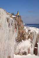 &quot;Superior Ice at Split Rock Lighthouse&quot;<br />