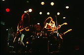 SOUNDGARDEN - L-R: Kim Thayil, Chris Cornell, Jason Everman - performing live at The Whisky A-Go-Go in Hollywood, CA USA -  December 7, 1989.  Photo credit: Kevin Estrada / Iconicpix