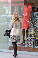 Shopper at Istinye Park shopping center mall near the Levent financial and business district of Istanbul, Turkey