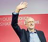Labour Leadership <br /> Conference <br /> at The QE Conference Centre, Westminster, London, Great Britain <br /> 12th September 2015 <br /> <br /> <br /> Jeremy Corbyn <br /> Leader <br /> <br /> <br /> <br /> Photograph by Elliott Franks <br /> Image licensed to Elliott Franks Photography Services