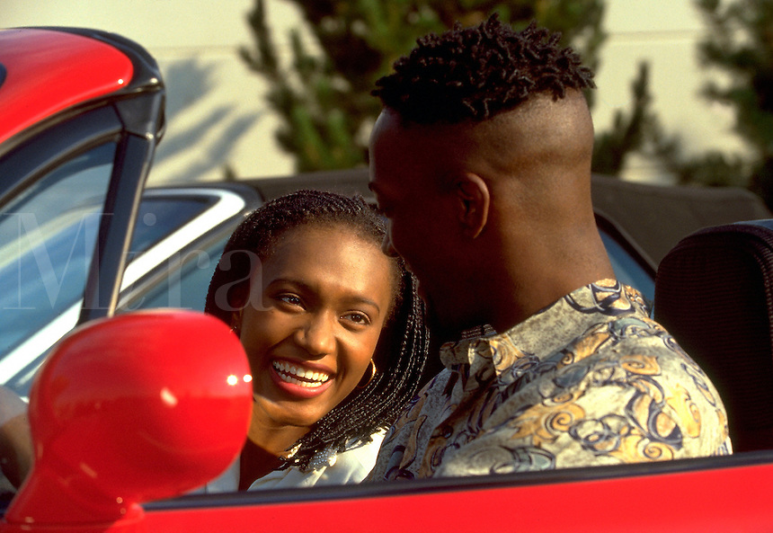 Image result for black man and woman laughing in car