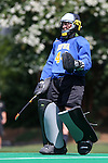 30 August 2014: Iowa's Alexandra Pecora. The Wake Forest University Demon Deacons played the University of Iowa Hawkeyes at Francis E. Henry Stadium in Chapel Hill, North Carolina as part of the ACC/Big 10 Challenge and an 2014 NCAA Division I Field Hockey match. Iowa won the game 4-1.
