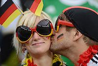 FUSSBALL  EUROPAMEISTERSCHAFT 2012   VIERTELFINALE Deutschland - Griechenland     22.06.2012 Deutscher Fussballfans
