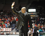 Mississippi head coach Andy Kennedy reacts against Coastal Carolina at the C.M. &quot;Tad&quot; Smith Coliseum in Oxford, Miss. on Tuesday, November 13, 2012. Mississippi won 90-72. (AP Photo/Oxford Eagle, Bruce Newman)