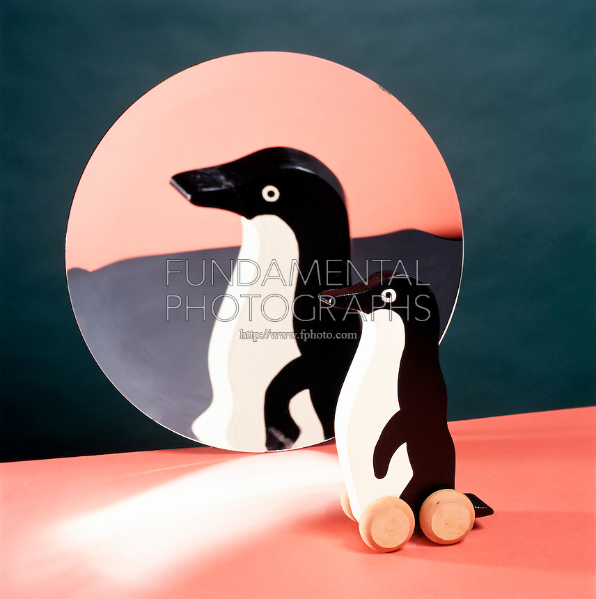 TOY REFLECTED IN CONCAVE (PARABOLIC) MIRROR (2 of 2)<br />