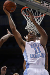 16 November 2014: North Carolina's Brice Johnson. The University of North Carolina Tar Heels played the Robert Morris University Colonials in an NCAA Division I Men's basketball game at the Dean E. Smith Center in Chapel Hill, North Carolina. UNC won the game 103-59.