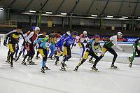 SCHAATSEN: HEERENVEEN: 21-12-2015, IJsstadion Thialf, Marathonschaatsen, ©foto Martin de Jong