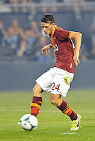 Sporting Park, Kansas City, Kansas, July 31 2013:<br /> Alessandro Florenzi (24) AS Roma in action.<br /> MLS All-Stars were defeated 3-1 by AS Roma at Sporting Park, Kansas City, KS in the 2013 AT &amp; T All-Star game.