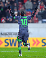 FUSSBALL   1. BUNDESLIGA  SAISON 2011/2012   19. Spieltag   29.01.2012 VfB Stuttgart - Borussia Moenchengladbach    Igor de Camargo (Borussia Moenchengladbach)