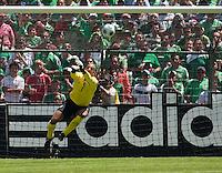Tim Howard. USA Men's National Team loses to Mexico 2-1, August 12, 2009 at Estadio Azteca, Mexico City, Mexico. .   .