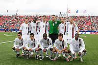 USA starting XI. Austria (AUT) defeated the United States (USA) in overtime of a FIFA U-20 World Cup quarter-final match at the National Soccer Stadium at Exhibition Place, Toronto, Ontario, Canada, on July 14, 2007.