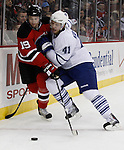 February 5, 2010: Toronto Maple Leafs at New Jersey Devils