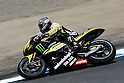 July 23, 2010 - Laguna Seca, USA - Monster Yamaha Tech 3 team's Colin Edward powers his bike during a practice run prior to the U.S. Grand Prix held on July 25, 2010. (Photo Andrew Northcott/Nippon News)
