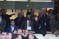 FUSSBALL   CHAMPIONS LEAGUE SAISON 2011/2012  HALBFINALE  RUECKSPIEL      Real Madrid - FC Bayern Muenchen           25.04.2012 Trainer Joachim LOEW (Deutschland) zu Gast auf der Ehrentribuene