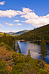 Lower Sardine Lake, Sierra County, Northern California.