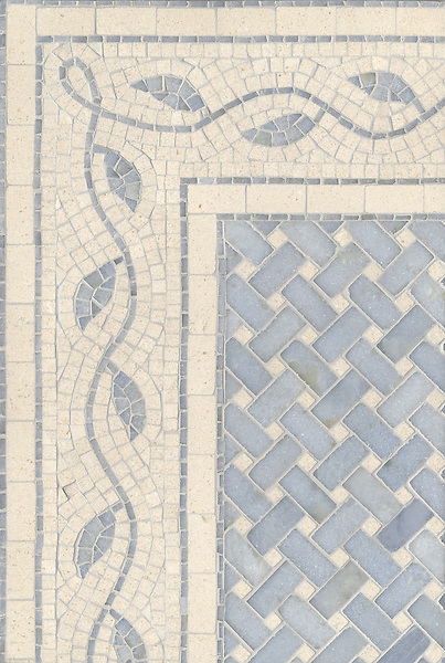 Name: Baldwin with Wickerweave<br /> Style: Organic<br /> Product Number: CB90A<br /> Description: Baldwin with Wickerweave in Ivory Cream (h), Celeste (p)