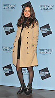Aysha Kala at the Skate at Somerset House with Fortnum &amp; Mason VIP launch party, Somerset House, The Strand, London, England, UK, on Wednesday 16 November 2016. <br /> CAP/CAN<br /> &copy;CAN/Capital Pictures /MediaPunch ***NORTH AND SOUTH AMERICAS ONLY***