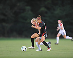 Ole Miss' Bethany Bunker (7) vs. Texas Tech at the Ole Miss Soccer Stadium in Oxford, Miss. on Sunday, September 2, 2012. Ole Miss won 2-0.