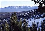 View of Lake Tahoe from Homewood Ski Area