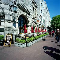 "Victoria, BC, Vancouver Island, British Columbia, Canada - ""Irish Time"" Pub on Government Street"