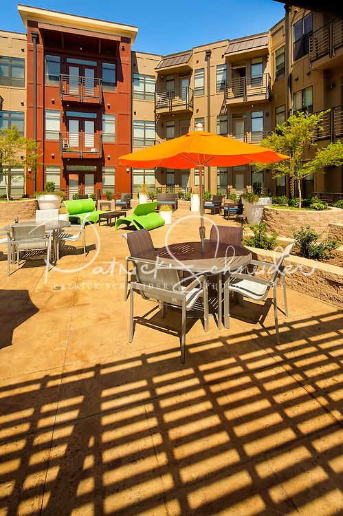 Photography of the Park &amp; Kingston Apartments in Historic South End Charlotte, NC.<br /> <br /> Charlotte Photographer - PatrickSchneiderPhoto.com