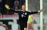 FUSSBALL   1. BUNDESLIGA   SAISON 2011/2012    6. SPIELTAG FC Schalke 04 - FC Bayern Muenchen                       18.09.2011 Manuel NEUER (Bayern)
