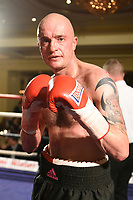 Dylan Draper during a Boxing Show at the Millenium Hotel on 11th May 2017