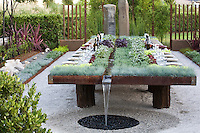 """""""Future Feast in The Garden Of Flow / Accumulation"""" by Suzanne Biaggi and Patrick Picard at The Late Show Gardens"""
