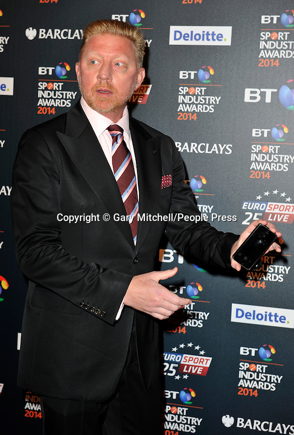 Boris Becker attends the BT Sport Industry Awards at Battersea Evolution on May 8, 2014 in London, England