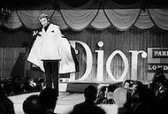 New York City, New York, USA, circa January 1969. Models present Dior designer Marc Bohan's Dior Monsieur line in New York.