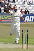 Ravi Bopara of Essex celebrates taking the wicket of Chris Rogers - Essex CCC vs Middlesex CCC - LV County Championship Division Two cricket at the Ford County Ground, Chelmsford - 24/05/11 - MANDATORY CREDIT: Gavin Ellis/TGSPHOTO - Self billing applies where appropriate - Tel: 0845 094 6026