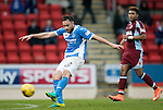 St Johnstone v Stenhousemuir&hellip;21.01.17  McDiarmid Park  Scottish Cup<br />Keith Watson has a shot at goal<br />Picture by Graeme Hart.<br />Copyright Perthshire Picture Agency<br />Tel: 01738 623350  Mobile: 07990 594431