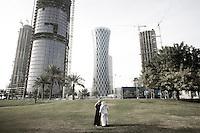 Qatar - Doha - Financial District