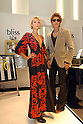 American celebrity Paris Hilton and former Major League Baseball player Tsuyoshi Shinjo appear at the opening ceremony of a new store by Italian jeweler Bliss at Omotesando Hills in Tokyo. 22 January, 2009. (Taro Fujimoto/JapanToday/Nippon News)