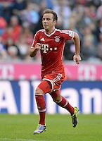 Fussball  1. Bundesliga  Saison 2013/2014  9. Spieltag FC Bayern Muenchen - 1. FSV Mainz     19.10.2013 Mario Goetze (FC Bayern Muenchen)
