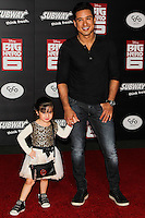 HOLLYWOOD, LOS ANGELES, CA, USA - NOVEMBER 04: Gia Francesca Lopez, Mario Lopez arrive at the Los Angeles Premiere Of Disney's 'Big Hero 6' held at the El Capitan Theatre on November 4, 2014 in Hollywood, Los Angeles, California, United States. (Photo by Celebrity Monitor)