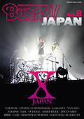 BURRN! Japan vol.8 - Front cover of Yoshiki of X Japan by George Chin/IconicPix