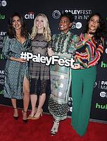 NEW YORK, NY-October 17:Priyanka Chopra, Johanna Braddy, Aunjanue Ellis, Yasmine al Massri at PaleyFest New York presents Quantico at the Paley Center for Media in New York.October 17, 2016. Credit:RW/MediaPunch