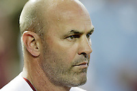 27 June 2011: Manager Kirk Gibson profile during a Major League Baseball game MLB Cleveland Indians defeated the Arizona Diamondbacks 5-4 inside Chase Field in Phoenix, AZ.  **Editorial Use Only**