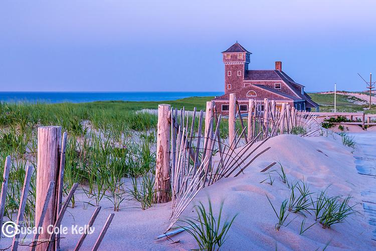 The Old Harbor Lifesaving Museum at Race Point Beach, Cape Cod National Seashore, Provincetown, Massachusetts, USA